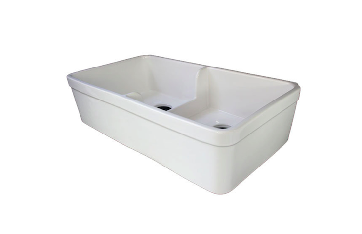 Alfi 32 Inch Double Bowl Fireclay Farmhouse Kitchen Sink Farmhouse Sink Kitchen Farmhouse Kitchen Kitchen Inspirations