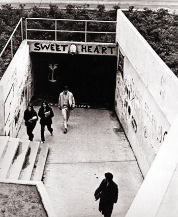 Nc State S Free Expression Tunnel Formerly Known As The Freedom Of Expression Tunnel 1971 Nc State University Nc State Nc State Wolfpack