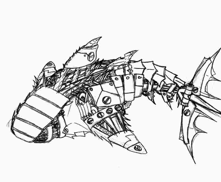 Robot Shark Coloring Pages Shark Coloring Pages Coloring Pages