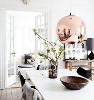 Inspirations: comment décorer avec du cuivre? - Marie Claire Maison