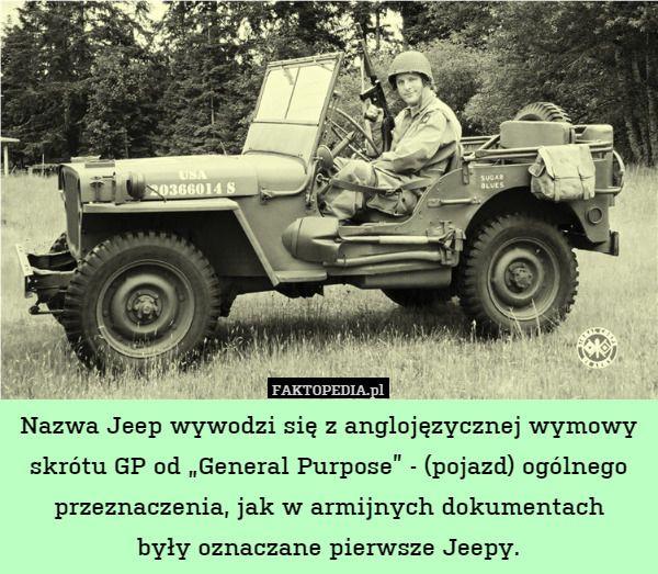 Faktopedia Czyli Taka Fajniejsza Wikipedia Ccix Jeep Dad