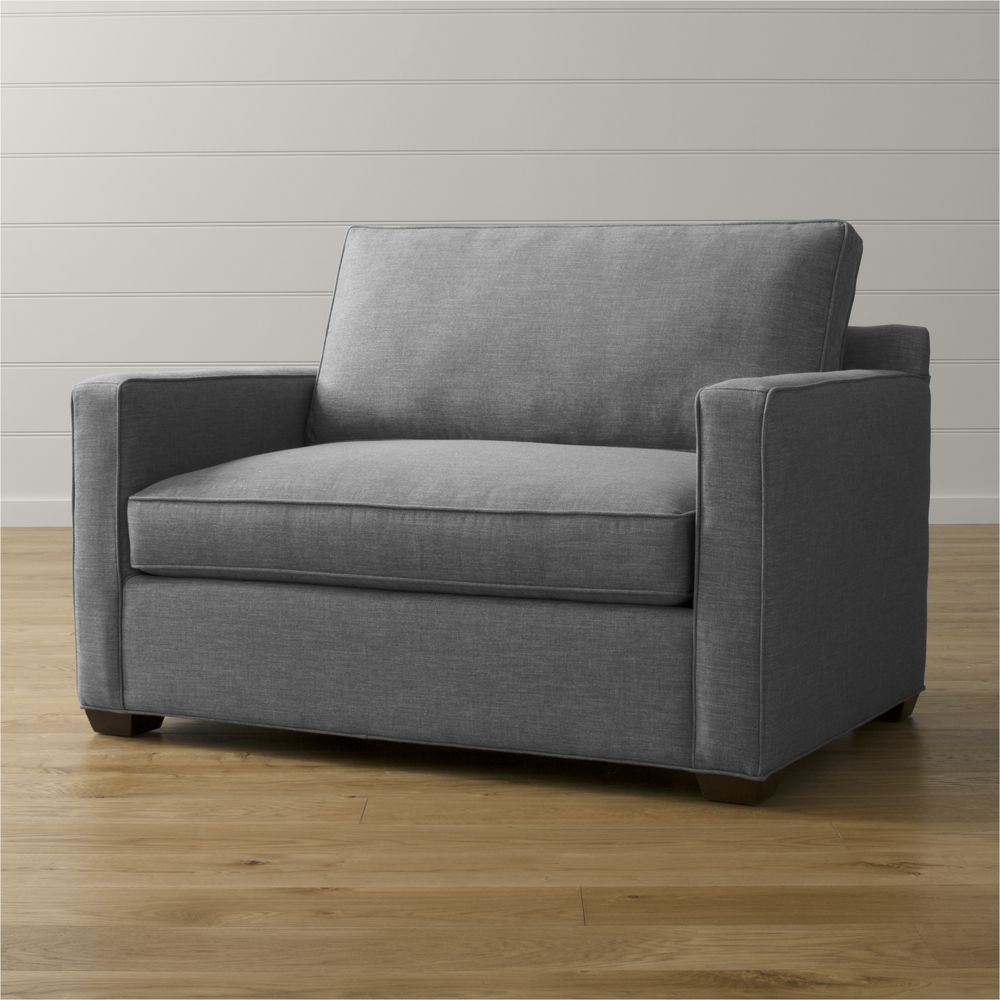 Incredible Davis Twin Sleeper Sofa Crate And Barrel Products In Ibusinesslaw Wood Chair Design Ideas Ibusinesslaworg