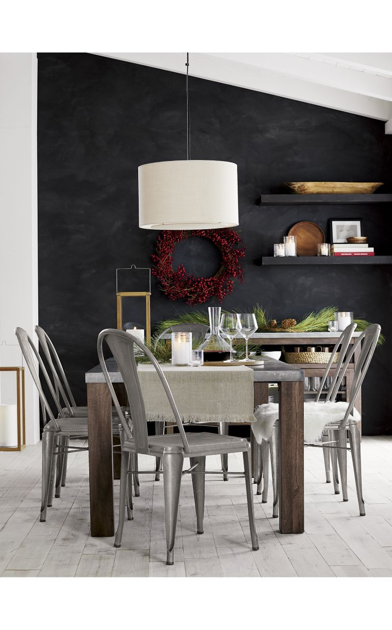 Galvin 72 Metal Top Dining Table Home In Florida Metal Dining