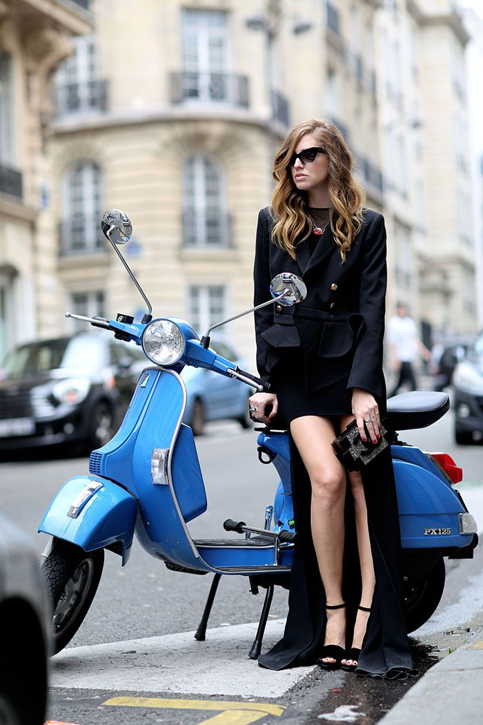 Paris fashionweek wearing McQ Alexander McQueen | CF