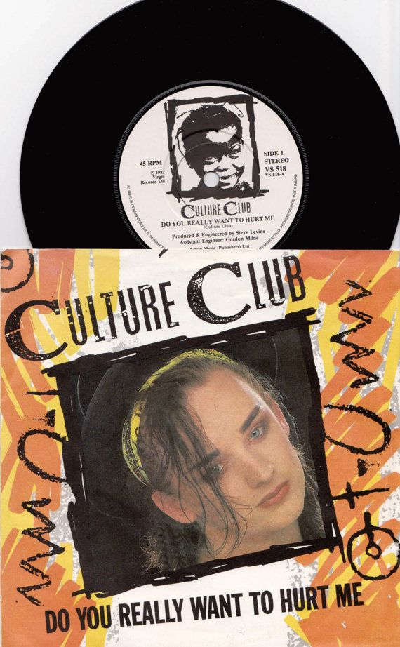 Culture Club Do You Really Want To Hurt Me 1983 Uk 7 45 Rpm Vinyl