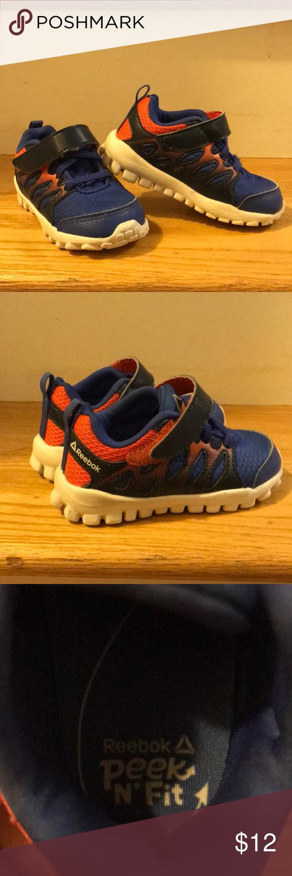 Reebok Peek N'Fit Toddler Sneakers Blue