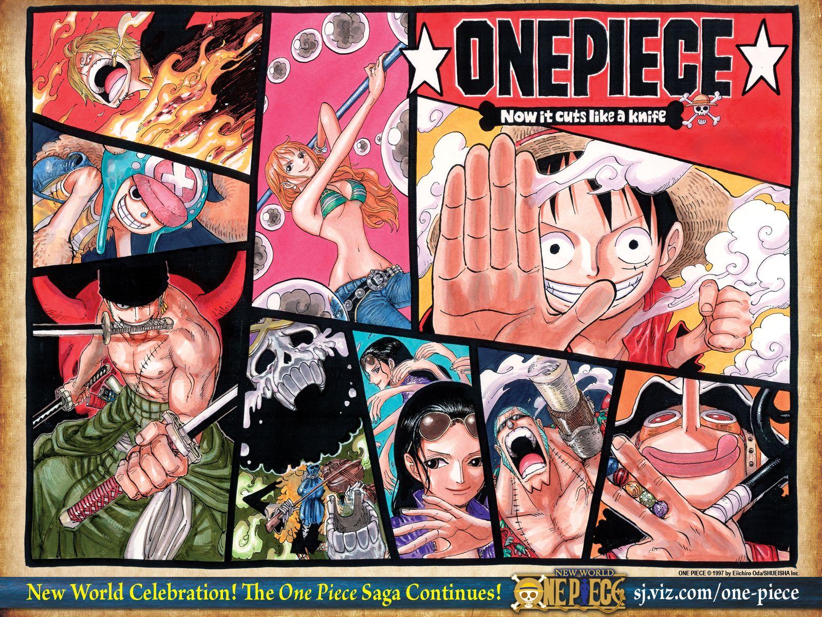 One Piece Wallpaper HD New World