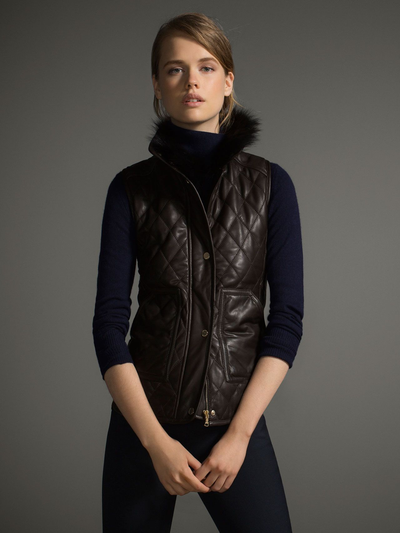LEATHER WAISTCOAT LIMITED EDITION