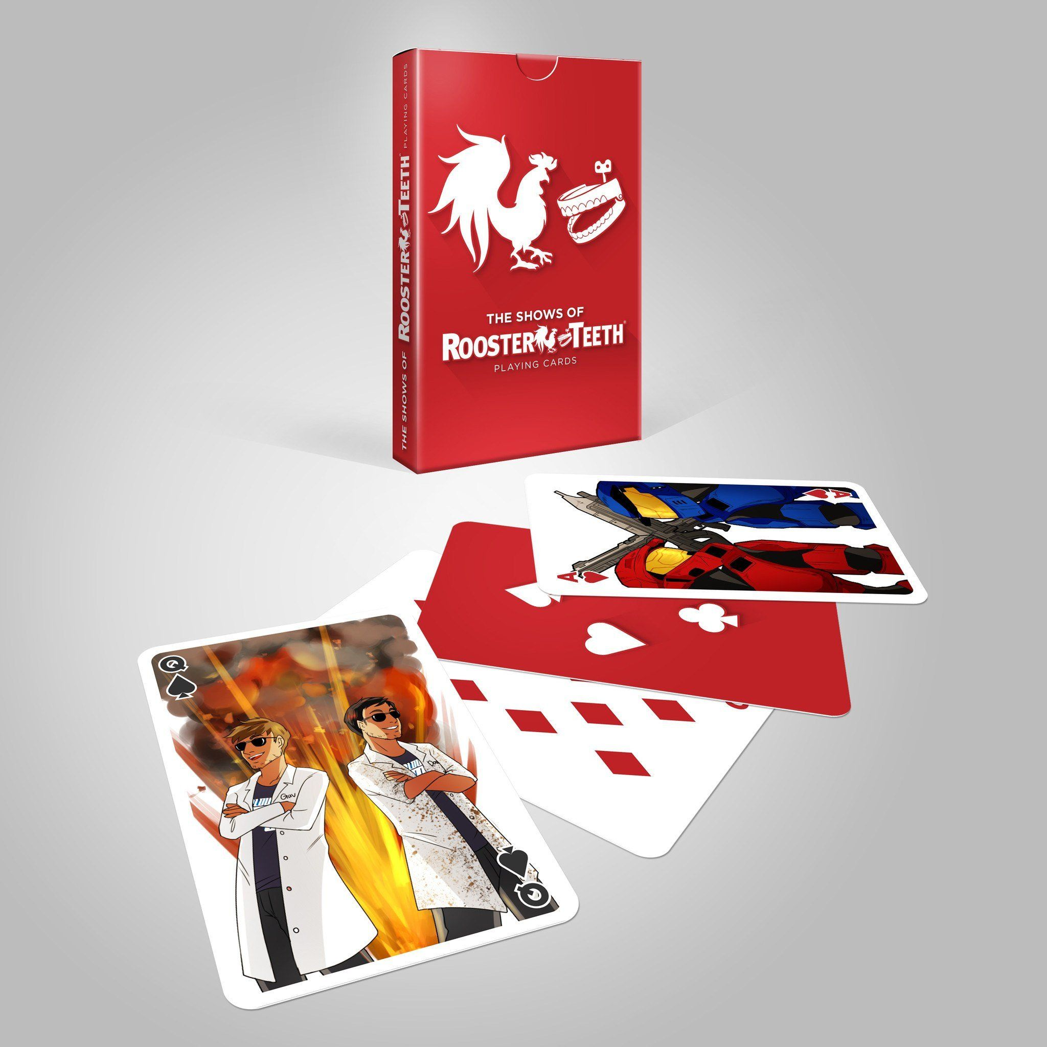 Rooster Teeth Shows of Rooster Teeth Playing Cards