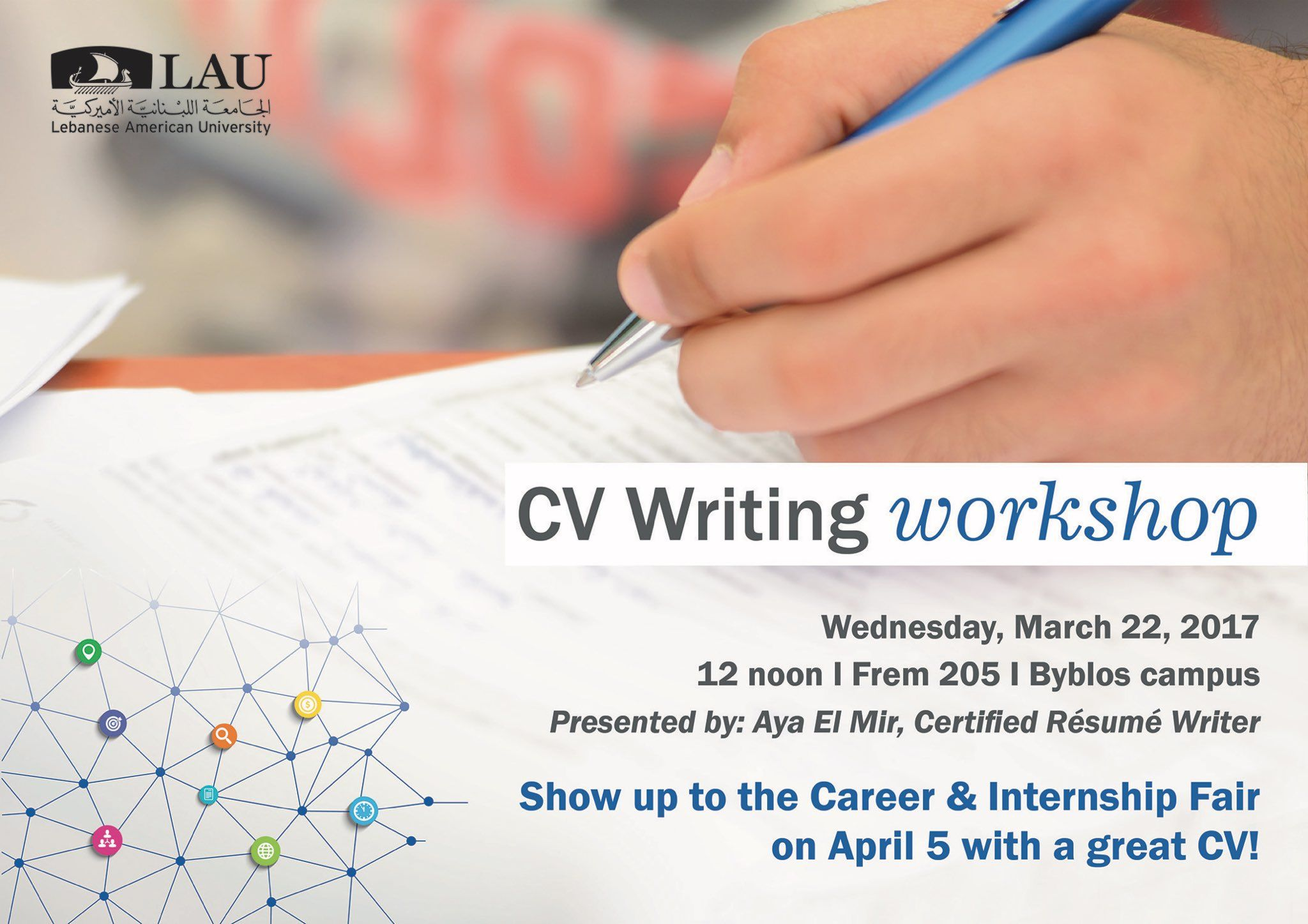 Cv Writing Workshop Show Up To The Career And Internship Fair With A Great Cv Writing Workshop Career Guidance Student Life