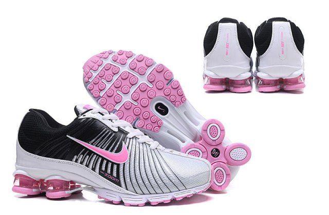 new product 67de6 29464 Nike Air Shox 2018 White Black Pink Womens Footwear