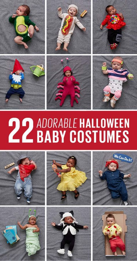 Halloween costumes for babies: 22 cute and easy DIY ideas