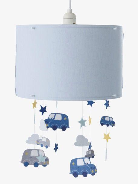 Vertbaudet HängeLampenschirm für Kinderzimmer, Autos in