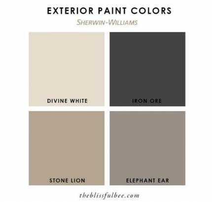 25+ Ideas Exterior House Paint Color Combinations With Stone White Trim For 2019 #exteriorhousecolors