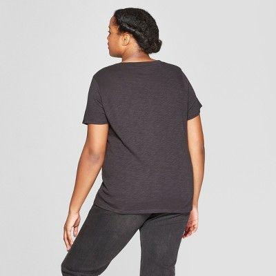 81c4c7bd6c9b7 Women s The Rolling Stones Plus Size Short Sleeve T-Shirt - Bravado  (Juniors ) - Black 1X  Size