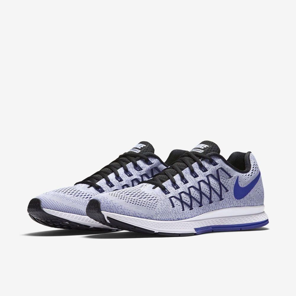 best service 47600 989a0 Men Nike Air Zoom Pegasus 32 Sz 12.5 White Concord 749340-100 FREE SHIPPING  HTF   eBay