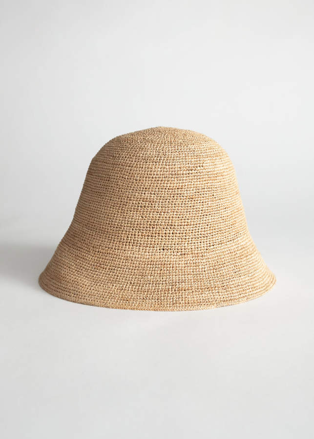 dfc8dc0ab Straw Bucket Hat in 2019   Accessorize that Dress.   Hats, Summer ...