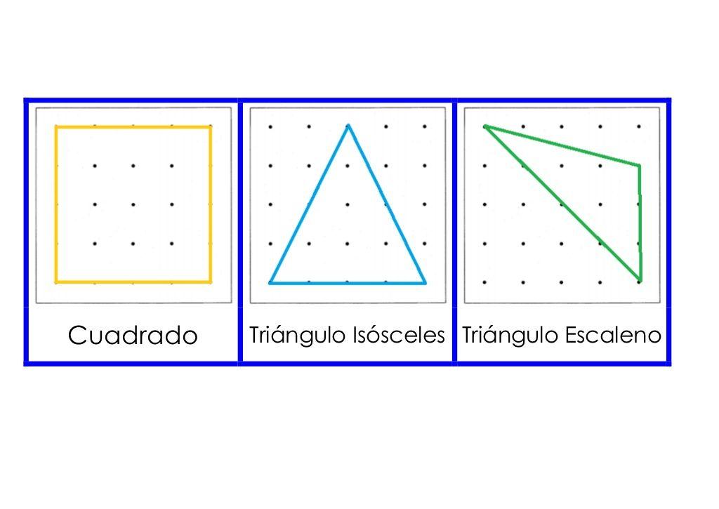 Cuadrado Triángulo Isósceles Triángulo Escaleno | Math geometry ...