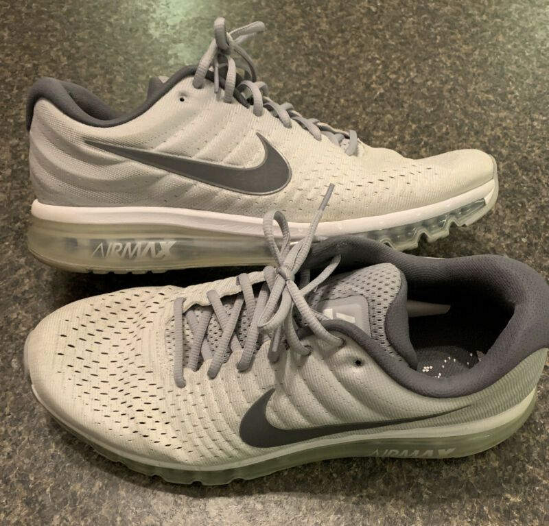 Nike Air Max 2017 Mens Size 15 Gray