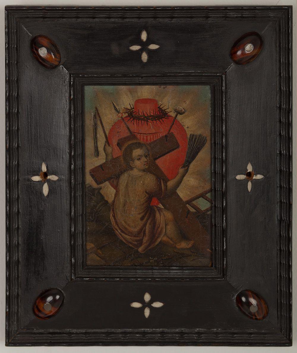 Niño Jesús con las estigmas de la pasión - Gregorio Vásquez de Arce y Ceballos
