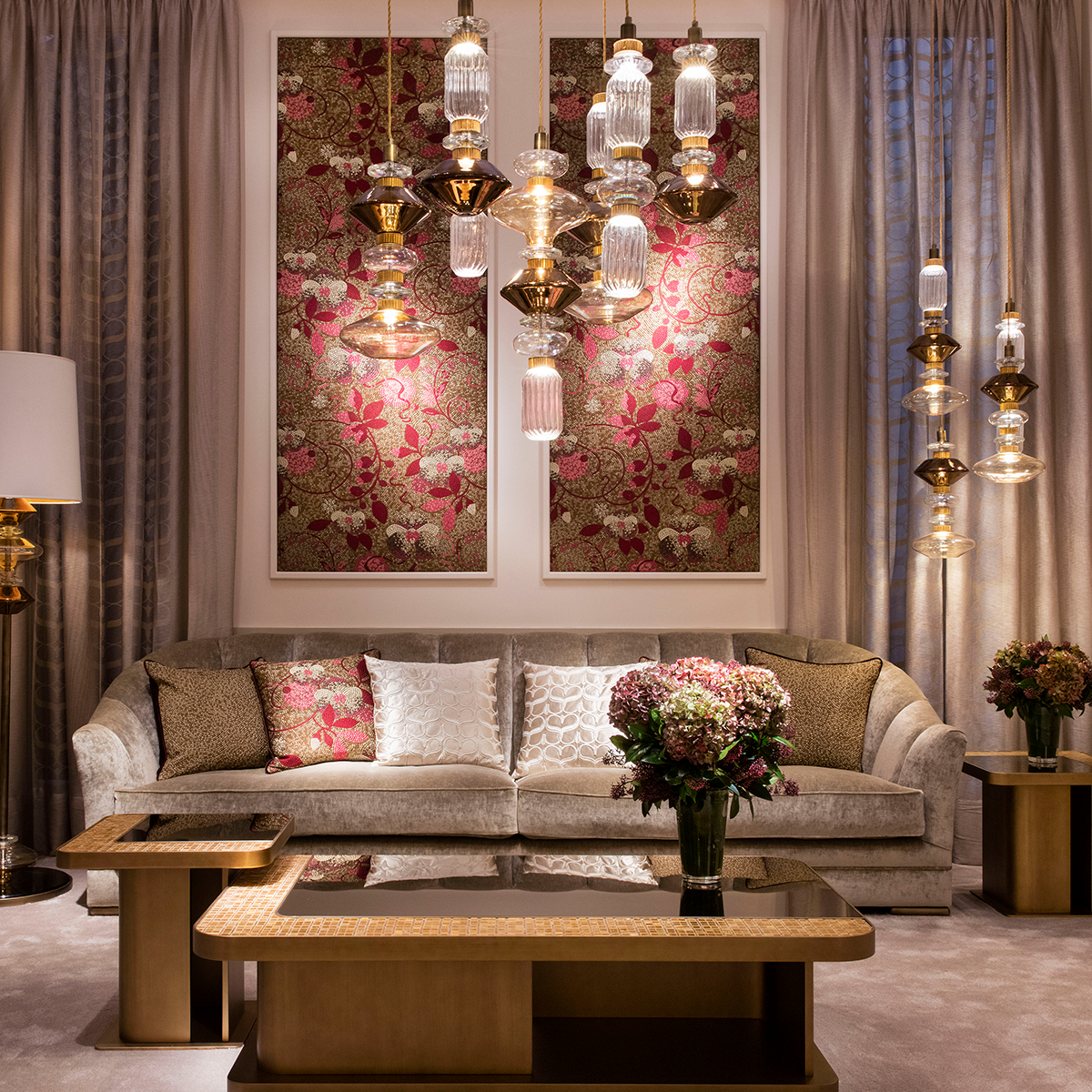 Inspired By A Parisian House, This Living Room Has Our Signature On From  Fabrics,