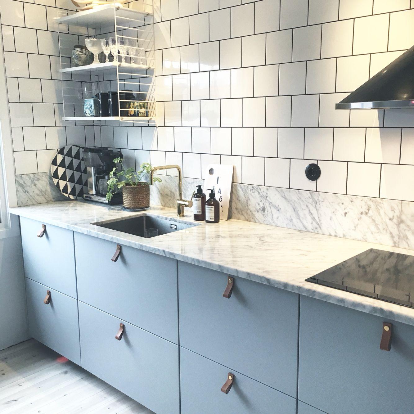 VÃ¥rt kök nästan klart. #kök #ikea #string #marmor #decosteel ... : kök ikea inspiration : Kök