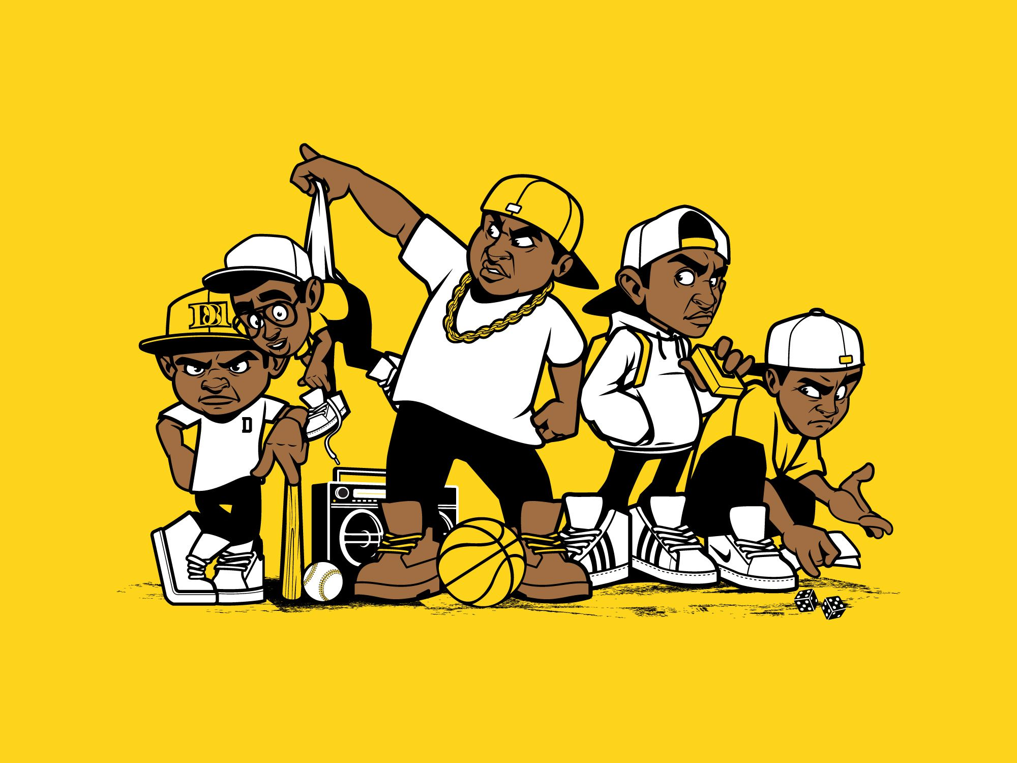 Dope Hip Hop Art: Pin On Old Dirty Dermot