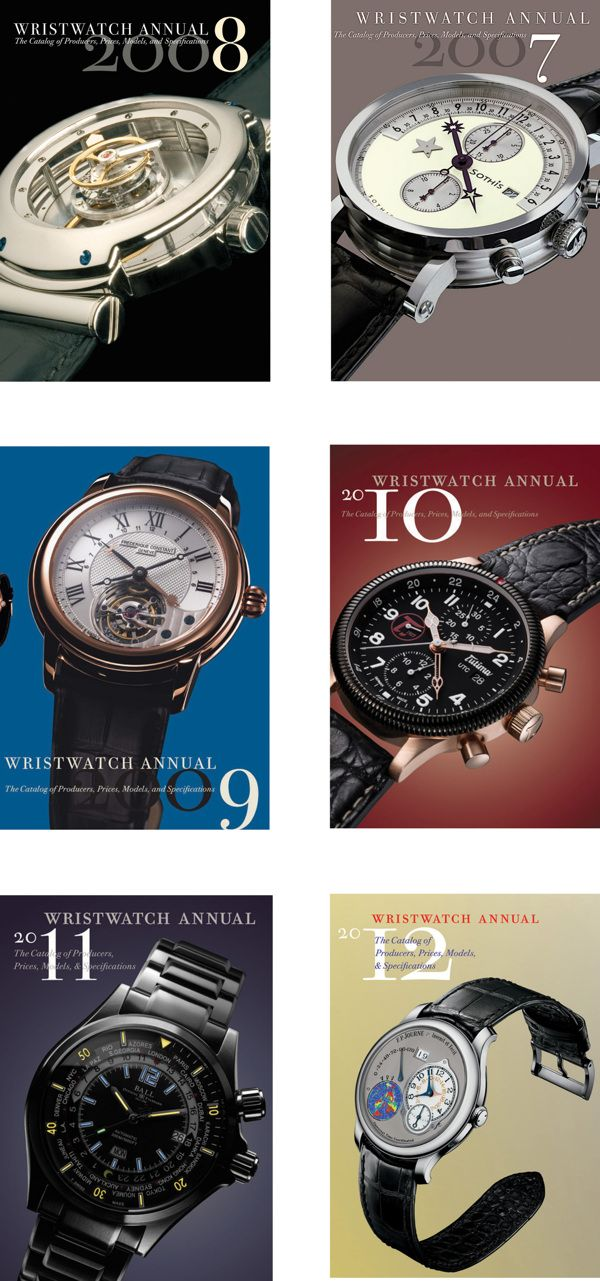 Wristwatch Annual by Misha Beletsky, via Behance