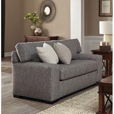 Overnight Sofa Luna 50 Sleeper Sofa Mattress Type: Innerspring, Upholstery:  Pepper