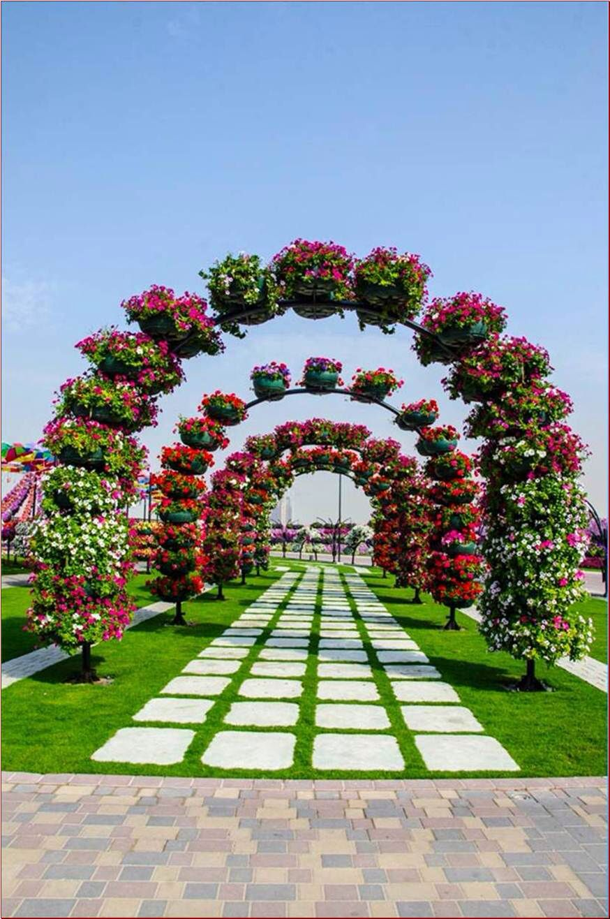 Beautiful natural gardens - The Most Beautiful And Biggest Natural Flower Garden In The World Dubai Miracle Garden