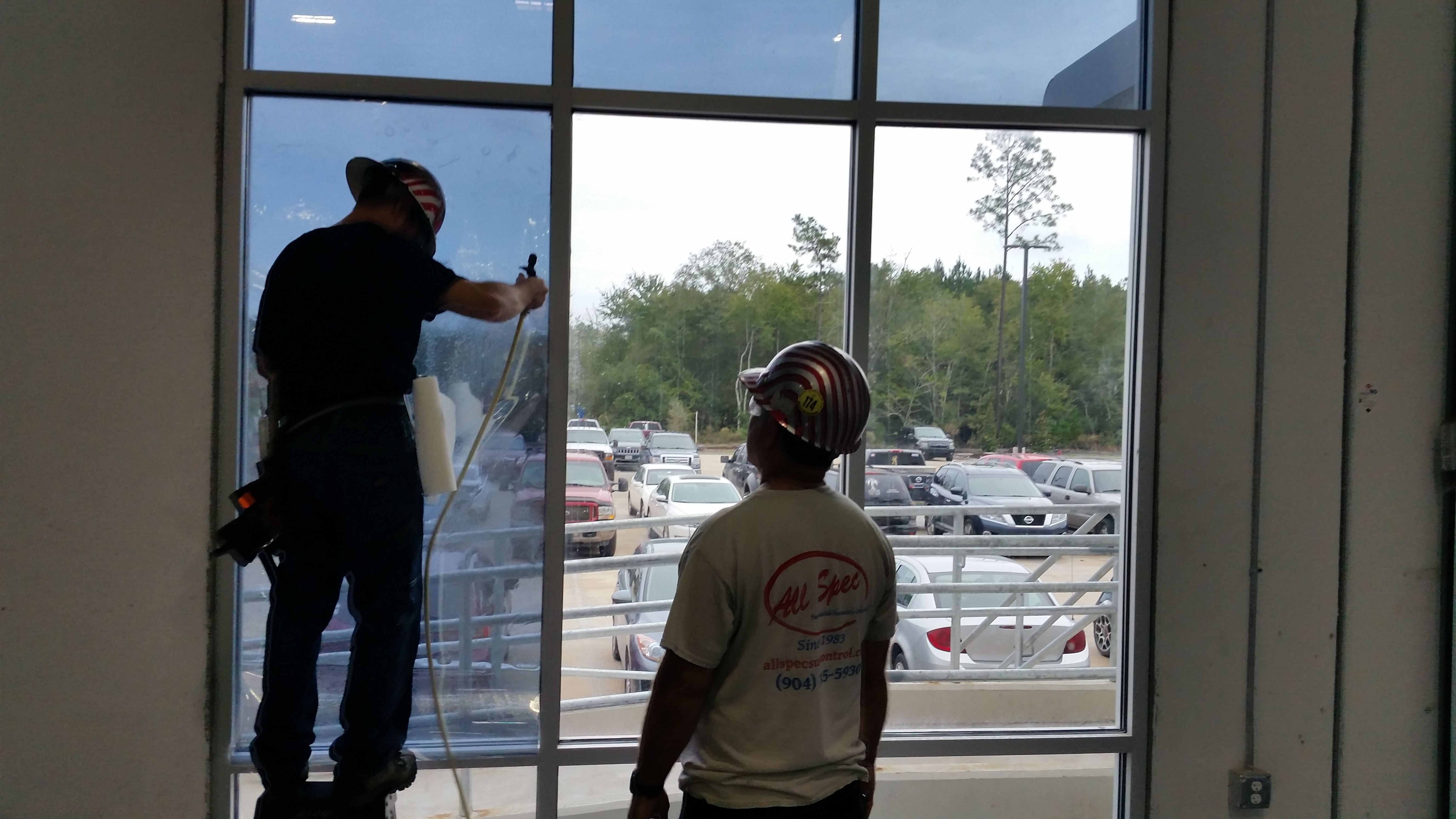 Security Sun Protection Film Combo For General Electric Pontevedra Window Film Northern Florida