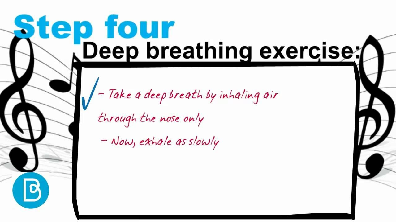 Singing for Breathing How to practice deep breathing