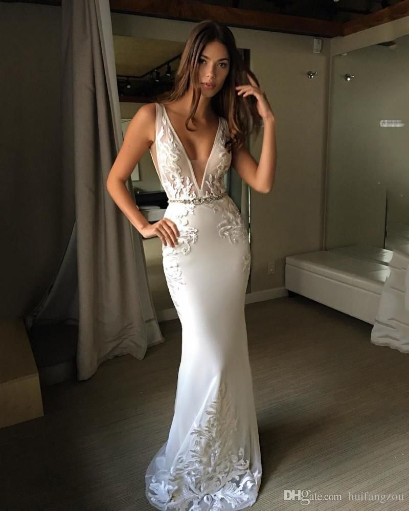 Vintage Mermaid Wedding Dresses Berta Appliques V Neckline Sleeveless Sash Bridal Gowns Custom Made Backless Wedding Dresses Latest Wedding Dresses 2015 Mermaid Style Wedding Gowns From Huifangzou, $171.85| DHgate.Com #bertaweddingdress