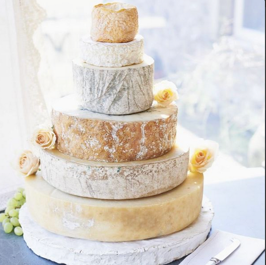 Cheese stack- better than a cheese cake!