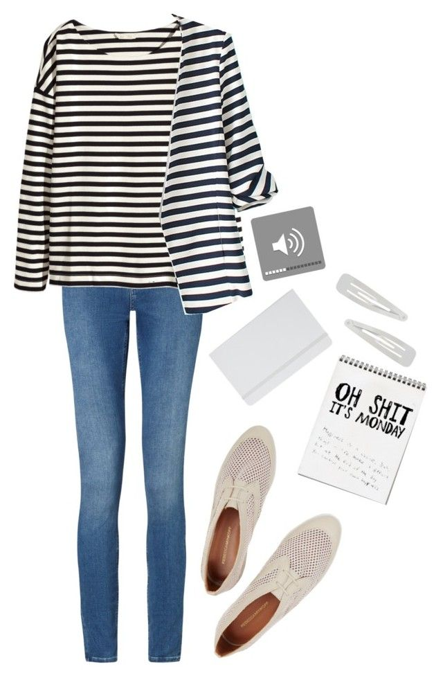"""""""untitled #53"""" by pet1999 ❤ liked on Polyvore featuring Calvin Klein, H&M, WithChic, Rebecca Minkoff, ASOS and Forever 21"""
