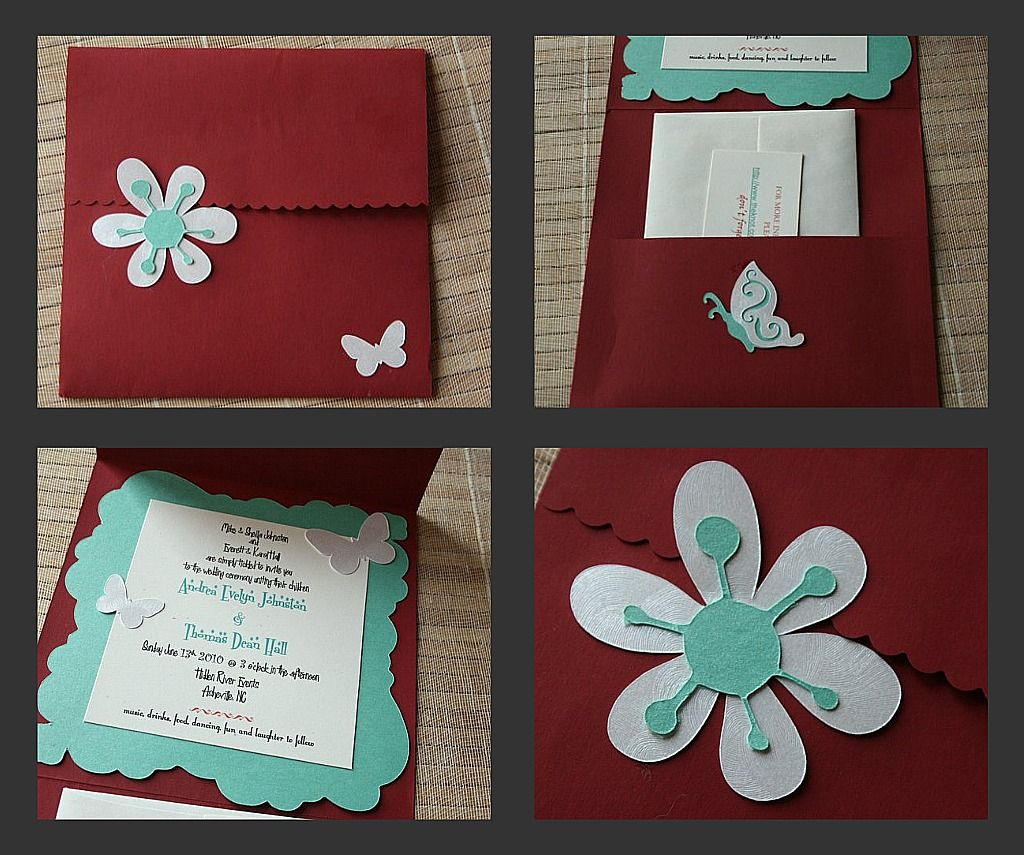 my own crafty wedding | Cricut wedding invitations, Cricut wedding ...