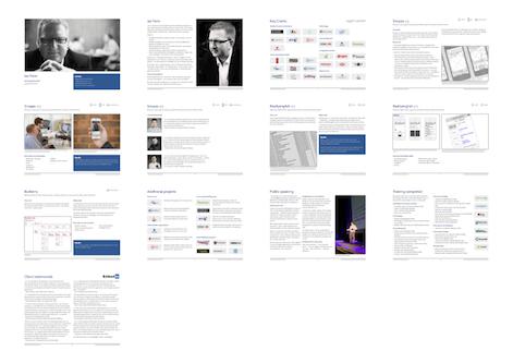 UX Portfolio Template for Keynote | UX | Pinterest | For ...