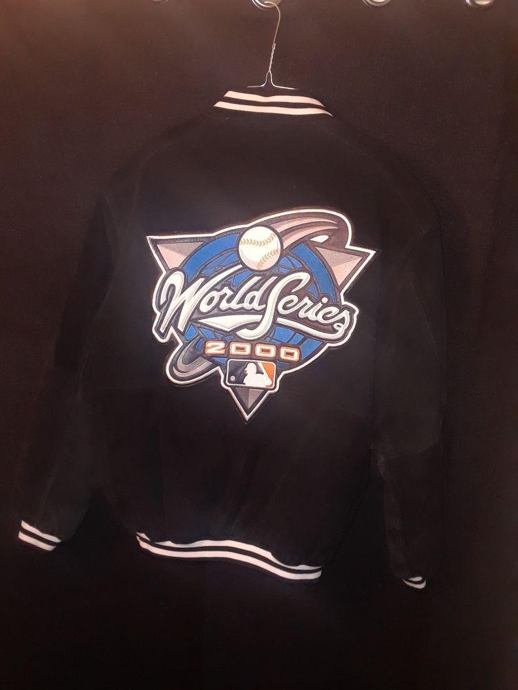 Mlb New York Yankees 98992000 World Series Champions Leather Bomber