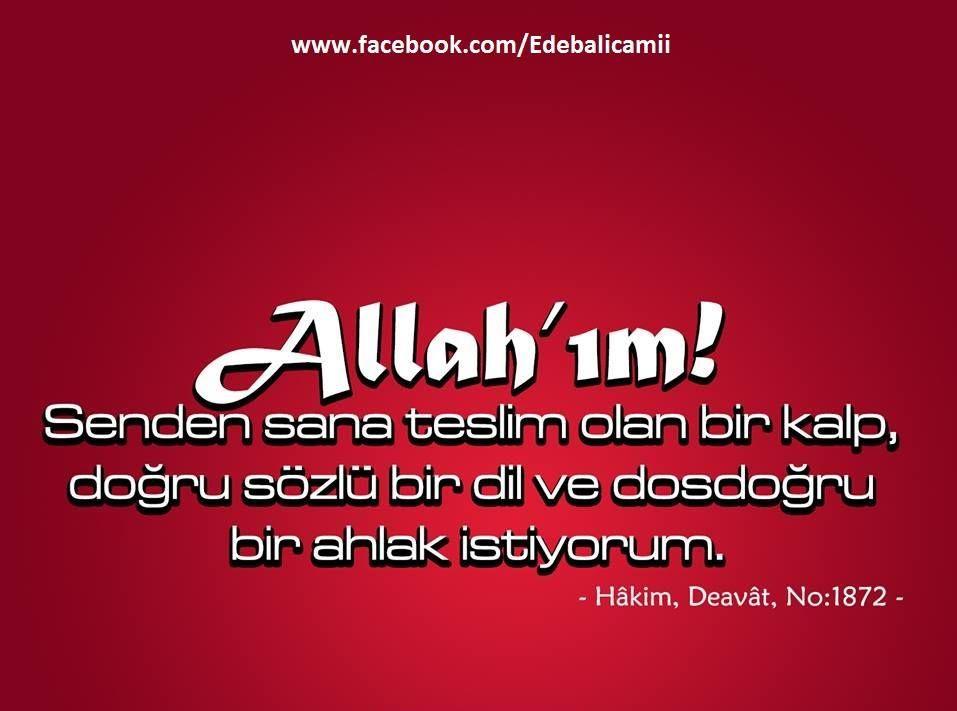 Osmanli Savasch On Dualar Allah Ve Ahlak