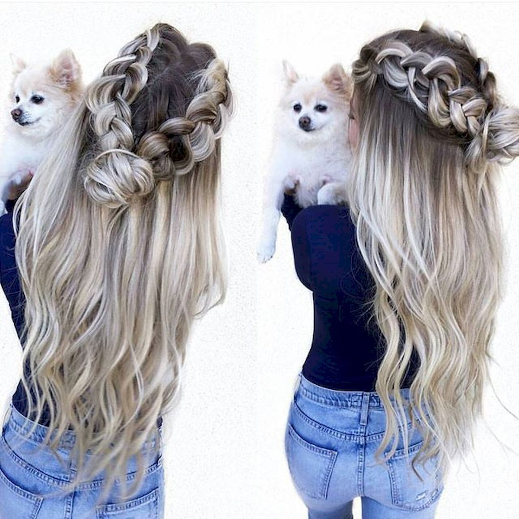 easy summer hairstyle ideas to do yourself hair pinterest