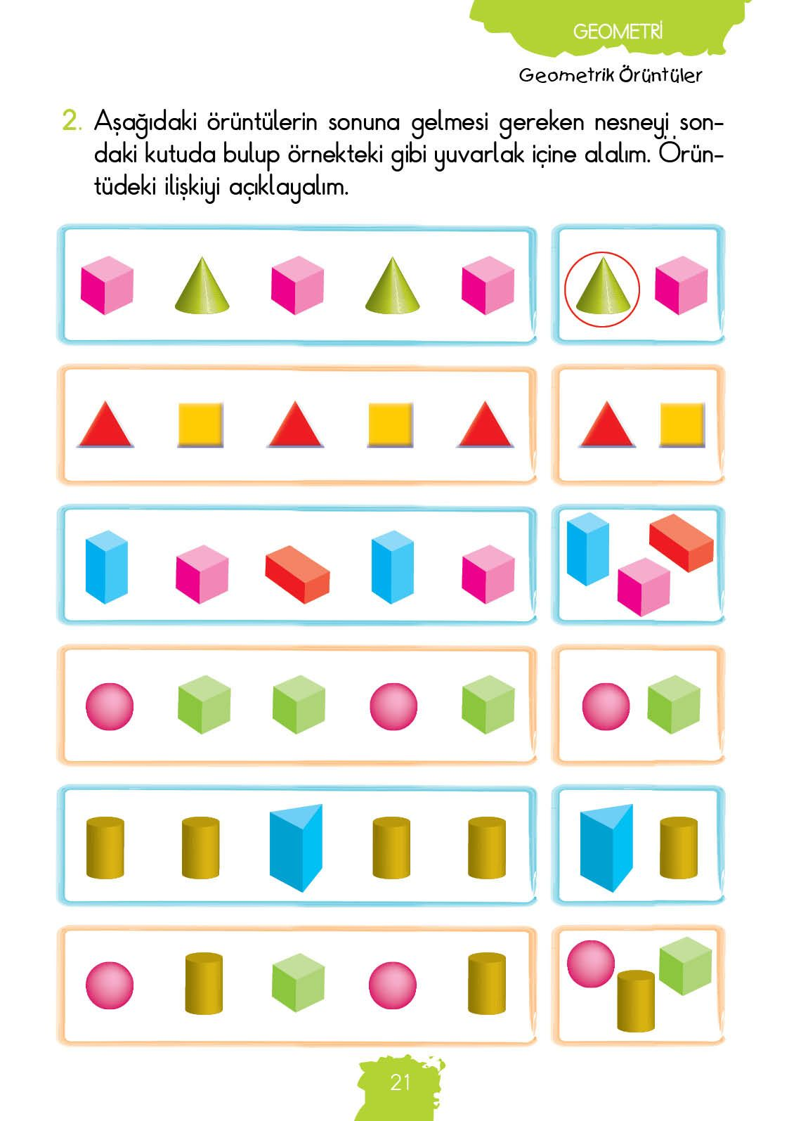 1 Sinif Konu Anlatim Matematik Fasikulleri Matematik Ogretim