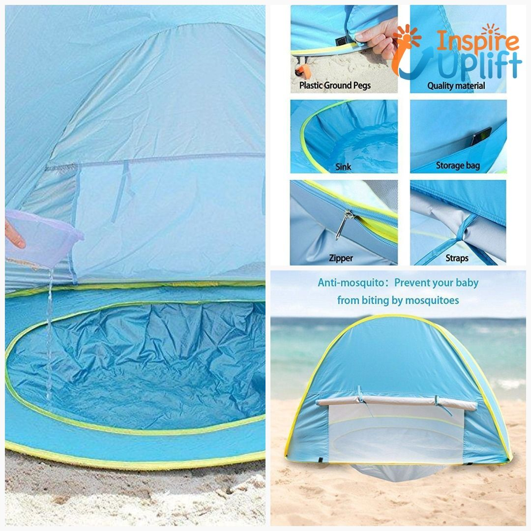 c237341d80436 Baby Pop-Up Beach Tent  me  fun  love  inspireuplift  BabyPool ...