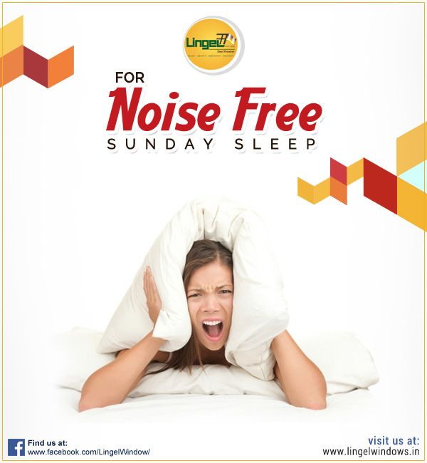 Enjoy Your Noise Free & Relaxed Sunday Sleep With Lingel Sound Proof Glass Have A Peaceful Weekend!