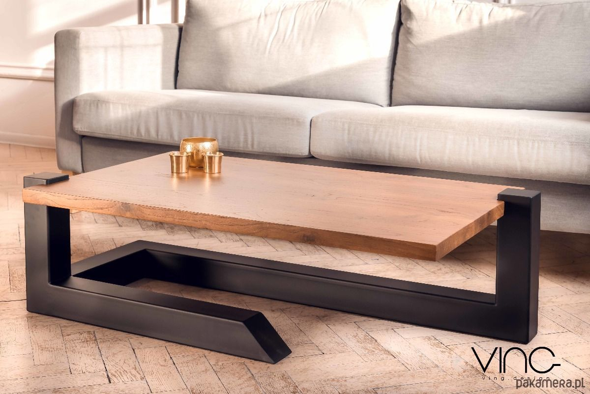 Allegro Follow Couchtisch Solid Oak Coffee Table Wood Design Loft Oak - Furniture - Tables And Coffee Tables - Coffee Ta… | Metal Furniture Design, Wood Table Design, Furniture Design Wooden