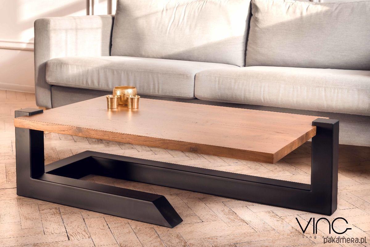 Solid Oak Coffee Table Wood Design Loft Oak Furniture Tables And Coffee Tables Coffee Ta Metal Furniture Design Wood Table Design Furniture Design Wooden [ 801 x 1200 Pixel ]