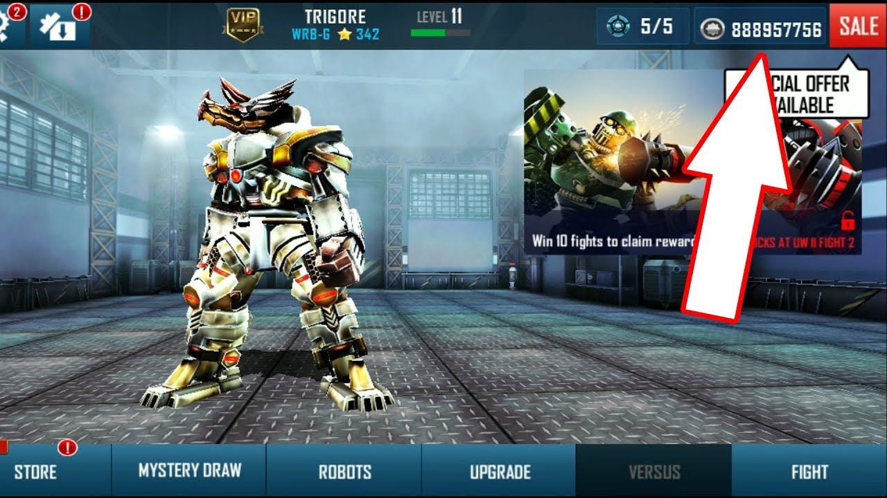 Real Steel World Robot Boxing Mod Apk Unlimited Money Real Steel