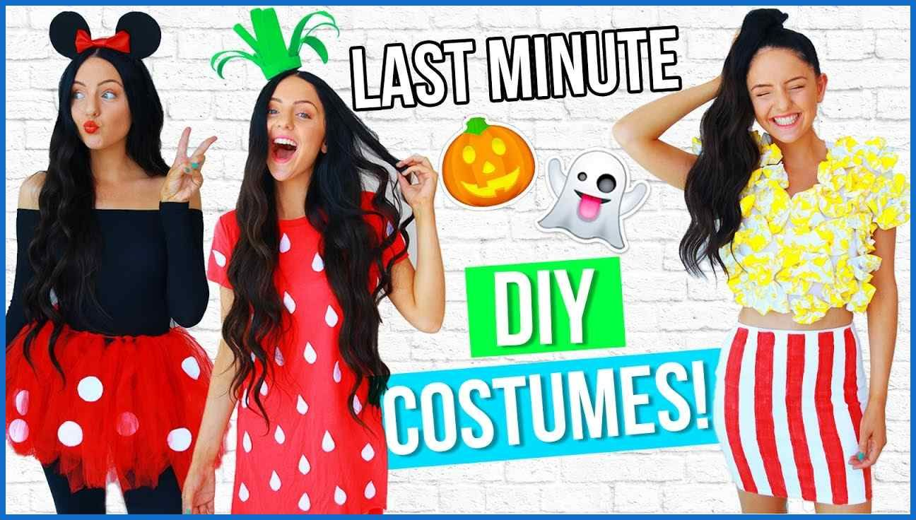 DIY LAST MINUTE Costume Ideas For Halloween 2016! EASY