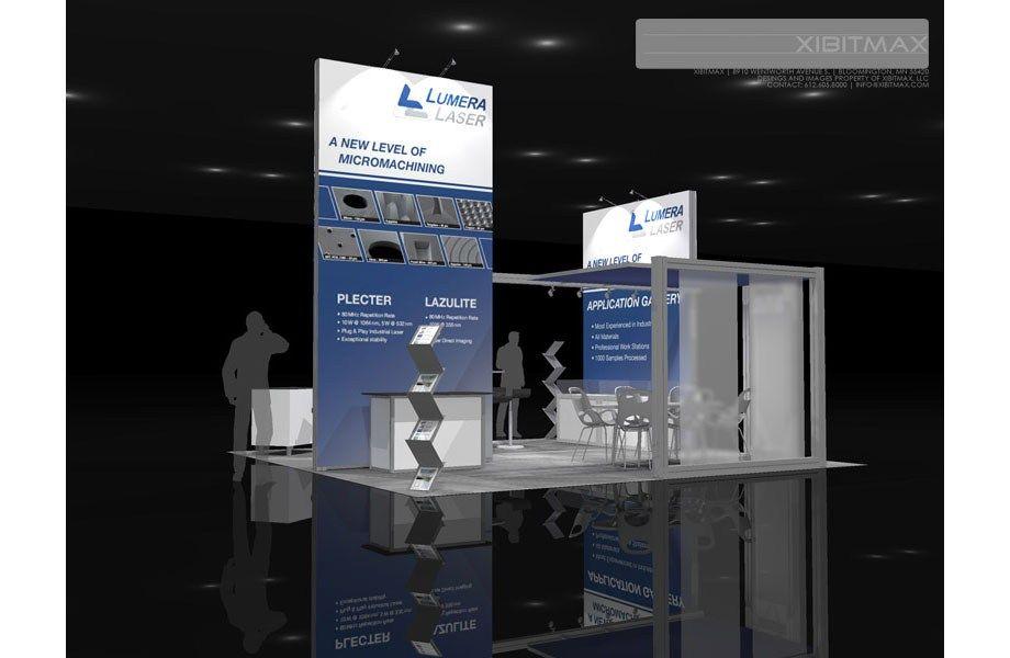 Lumera 20x20 Trade Show Exhibit Rental In 2020 Trade Show Exhibition Stall Arts Crafts House