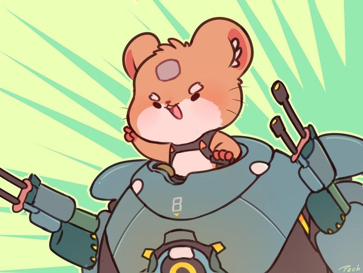 Hammond By Pech Overwatch Overwatch Overwatch Memes Overwatch Fan Art