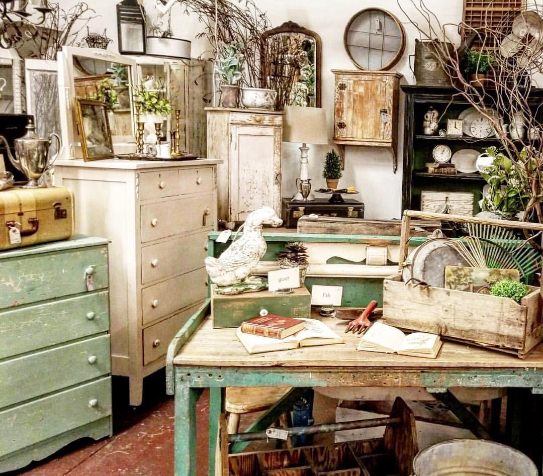 Lots of beautiful vintage furniture 💕 | Furniture store ...
